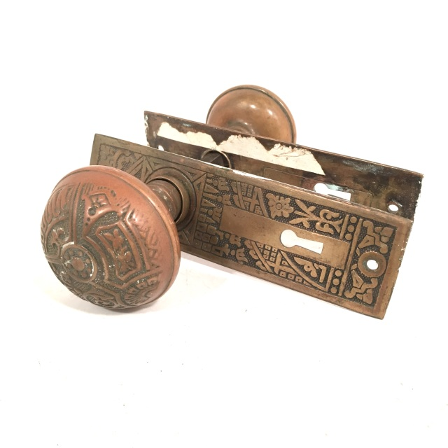 salvaged door knobs
