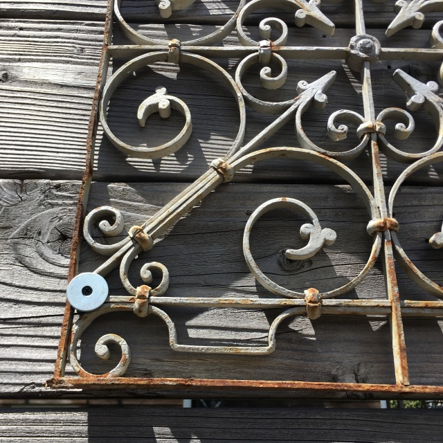 Pair Of 19th Century Tunisian Wrought Iron Pieces