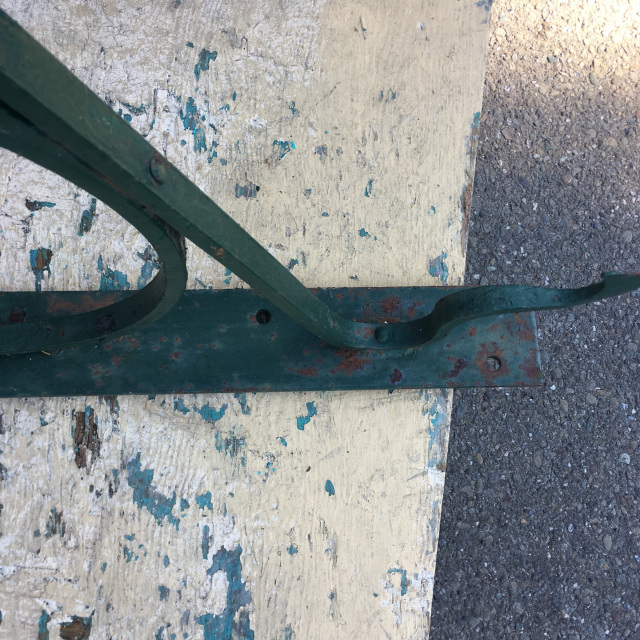 Hand Forged Iron Sign Brackets