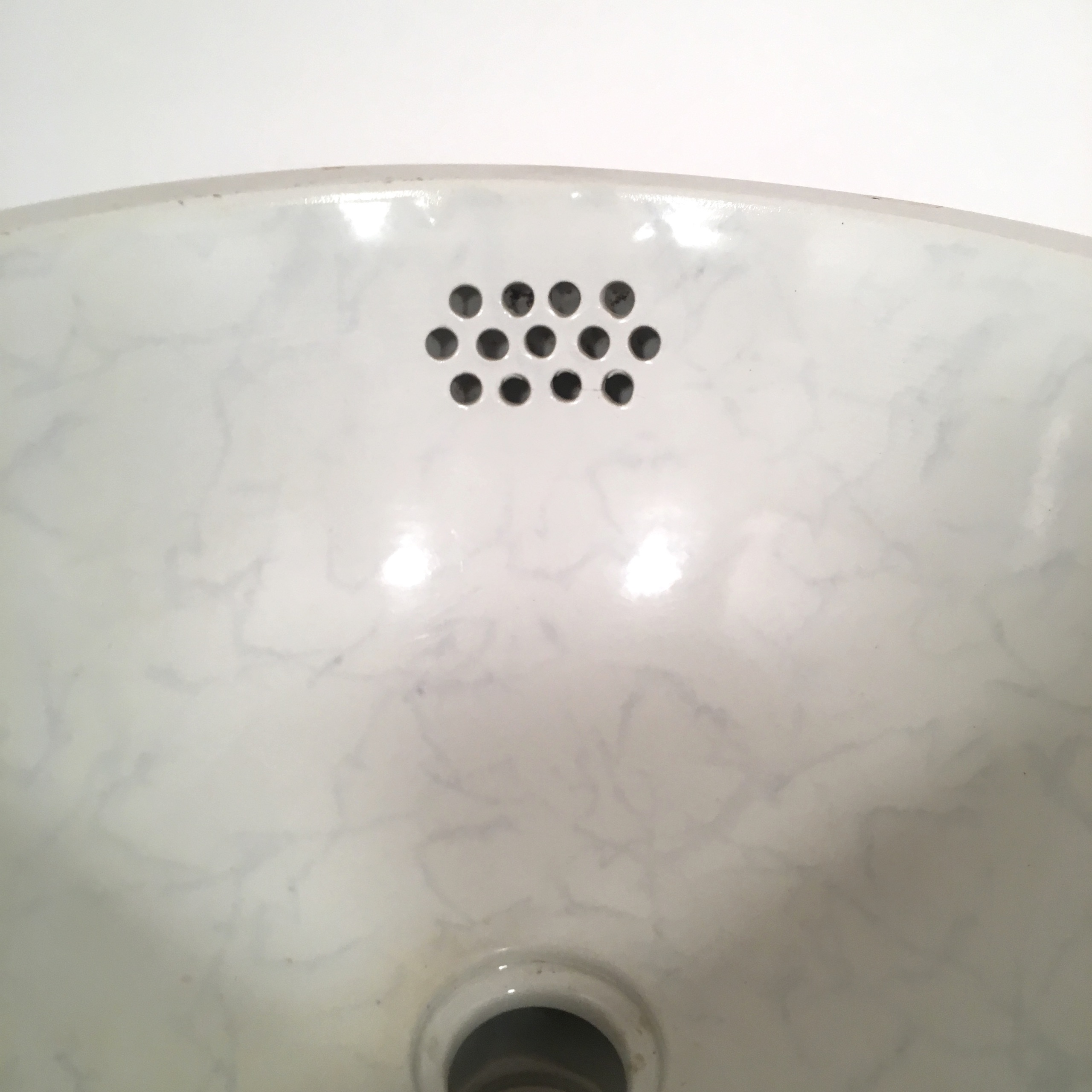 Rare Faux Marble Under Mount Sink
