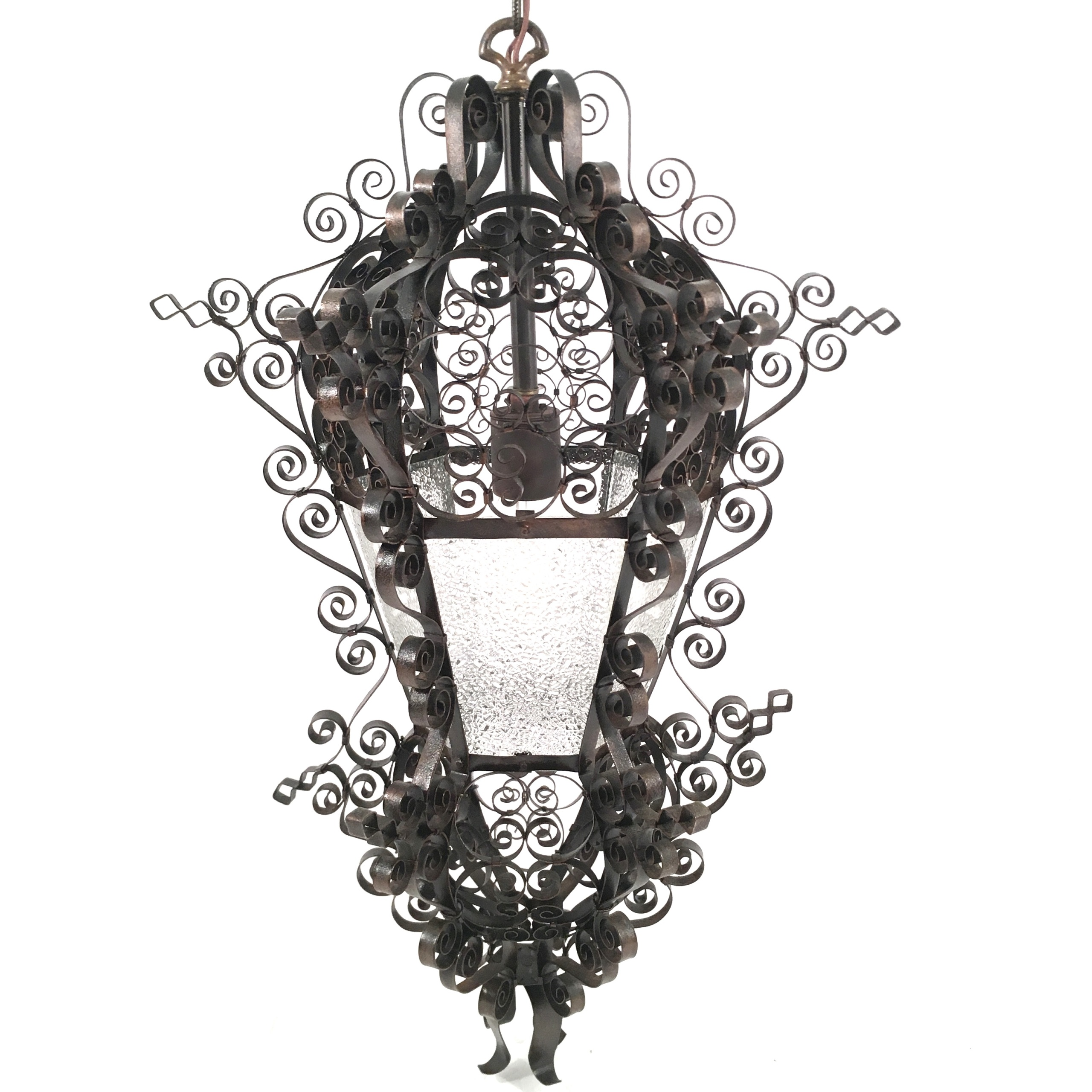 Spanish Moorish Revival Pendant Light