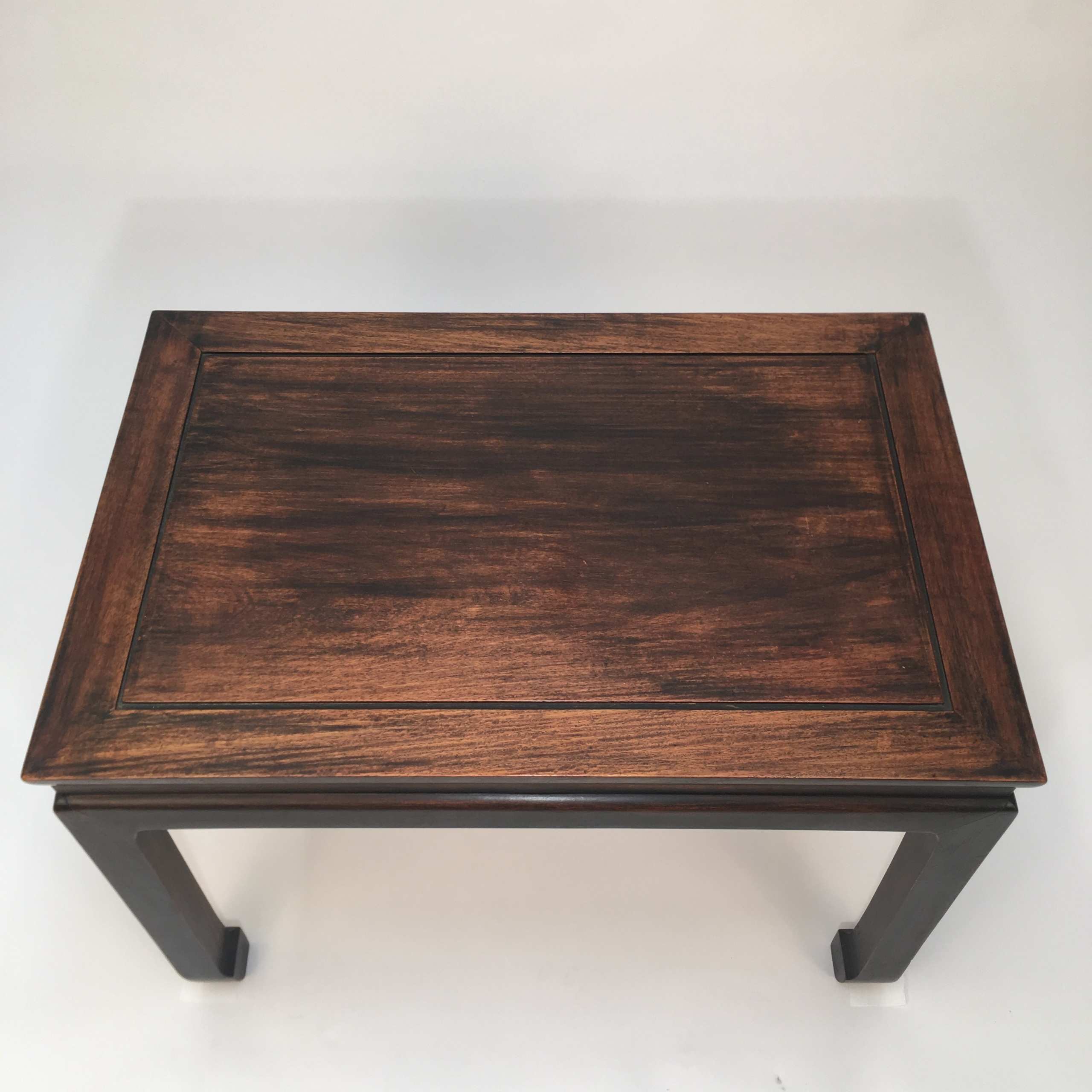 Chinese Side Table.Oak Chinese Side Table