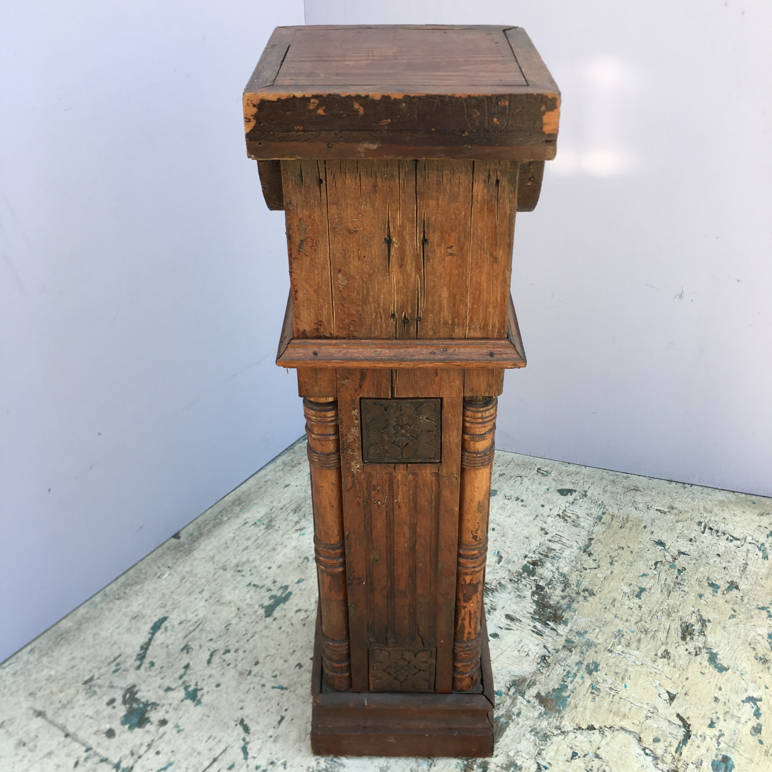 Eastlake Victorian Newel Post C 1880