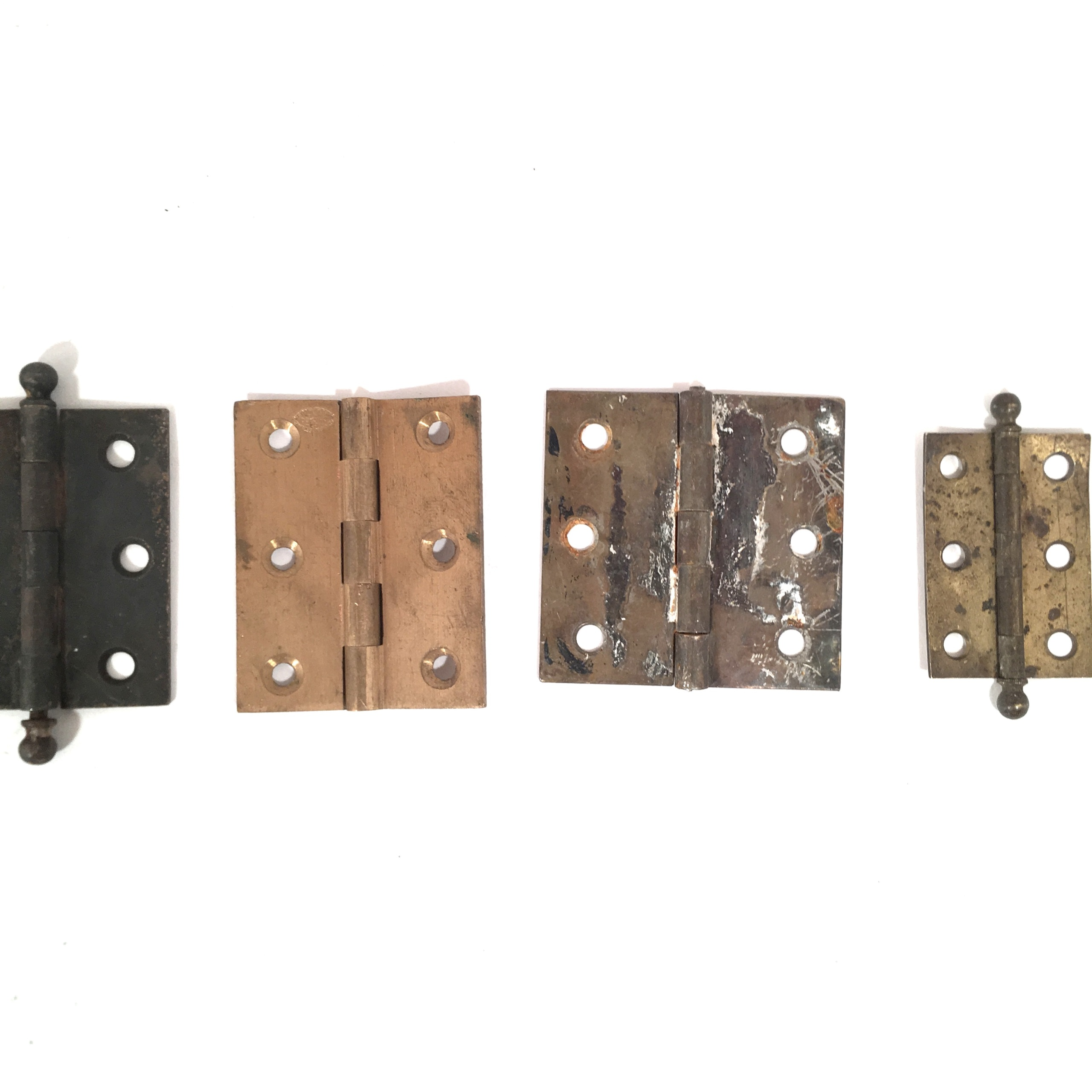 Salvage Kitchen Cabinets: Salvaged Cabinet Hinges
