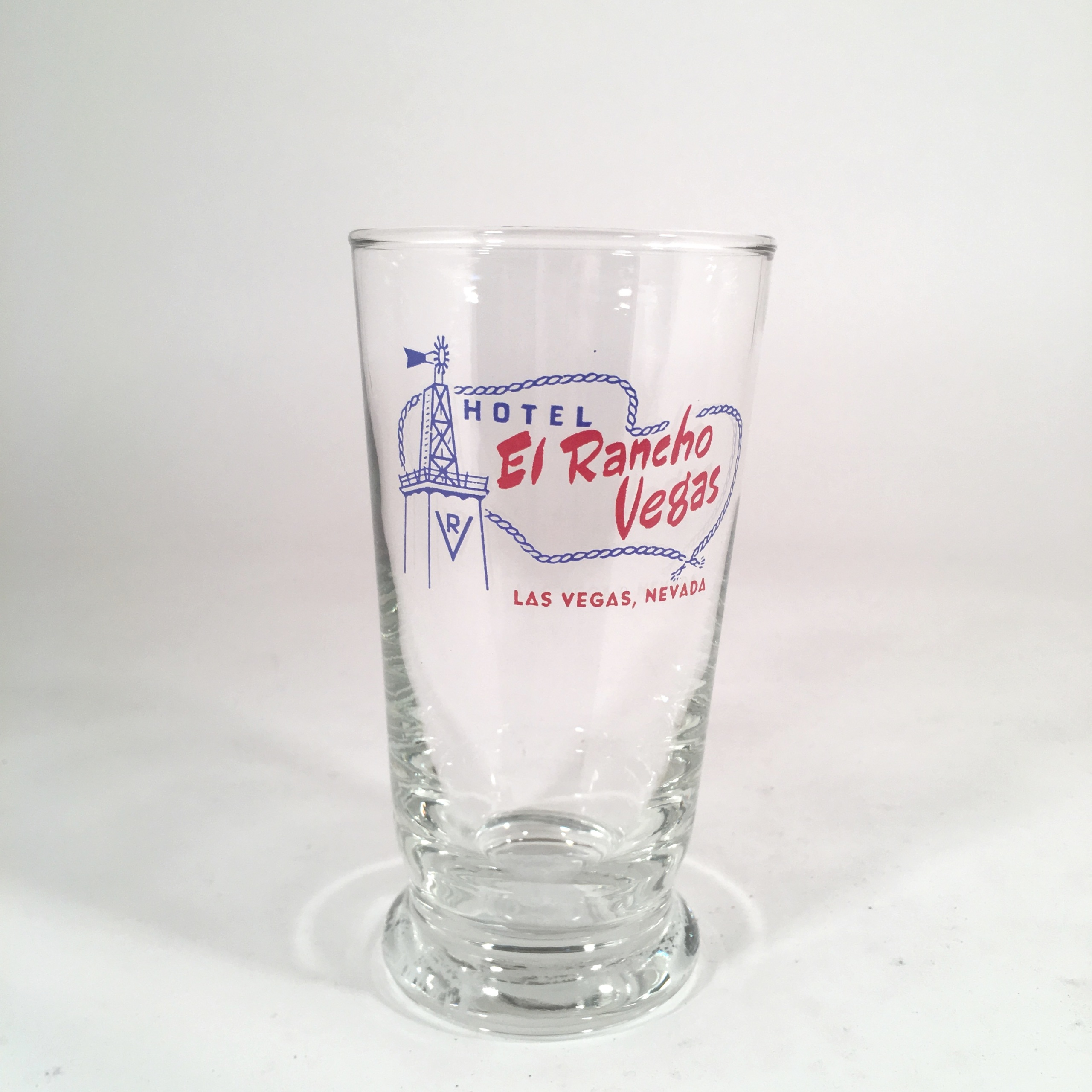 El Rancho Las Vegas Collectible Drinking Glass