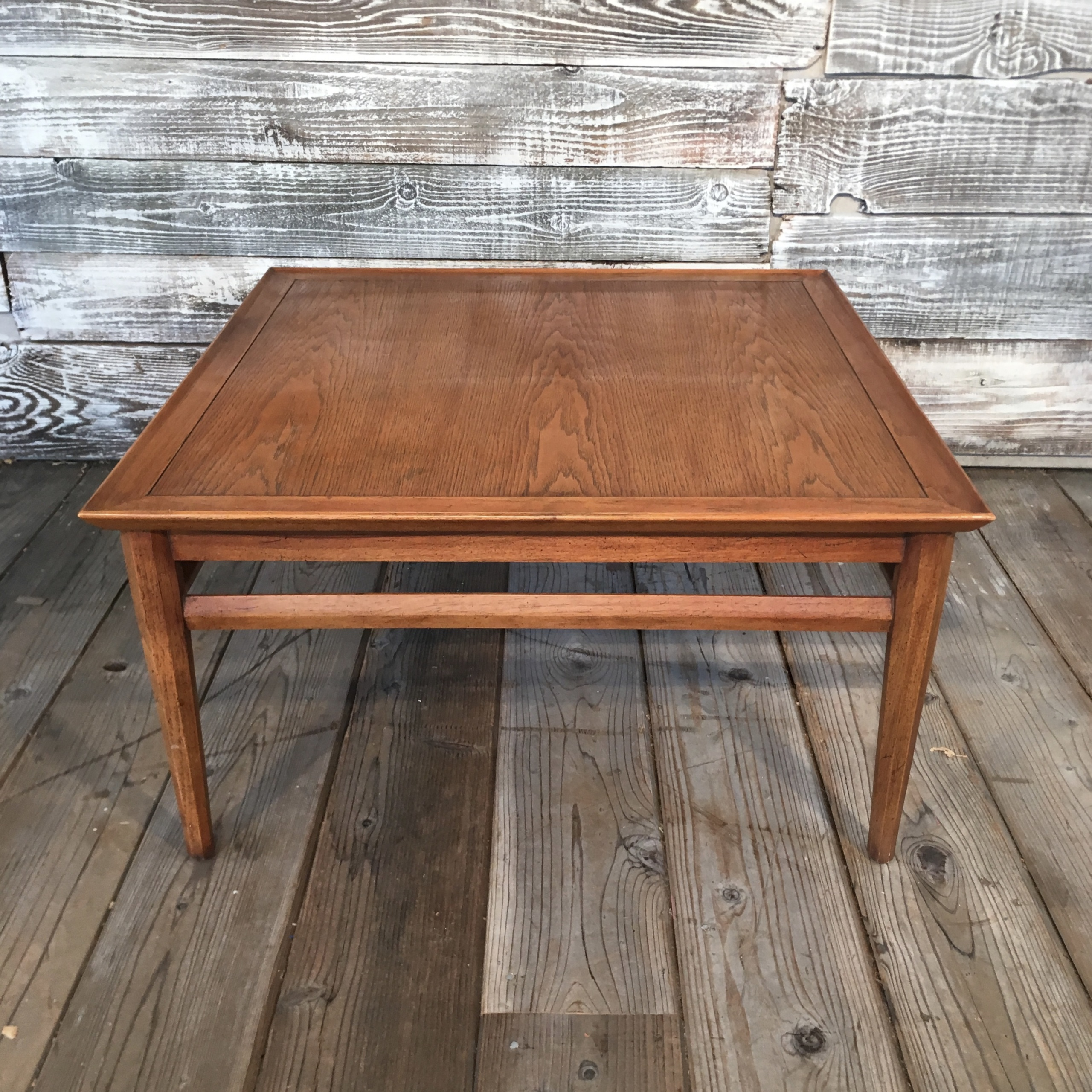 Drexel Heritage Mid Century Walnut Coffee Table